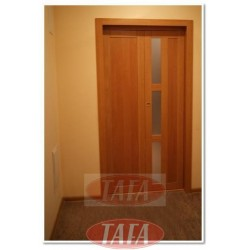 Drzwi składane, łamane Kamila