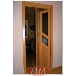 Drzwi składane, łamane Natalia model 4