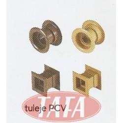 Tuleja wentylacyjna PCV do drzwi składanych