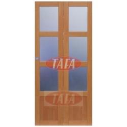 Drzwi składane, łamane  Agnieszka 3